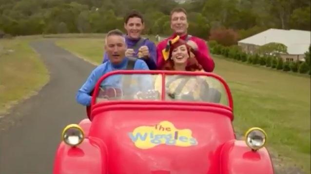 Big Red Car Lyrics New Wiggles