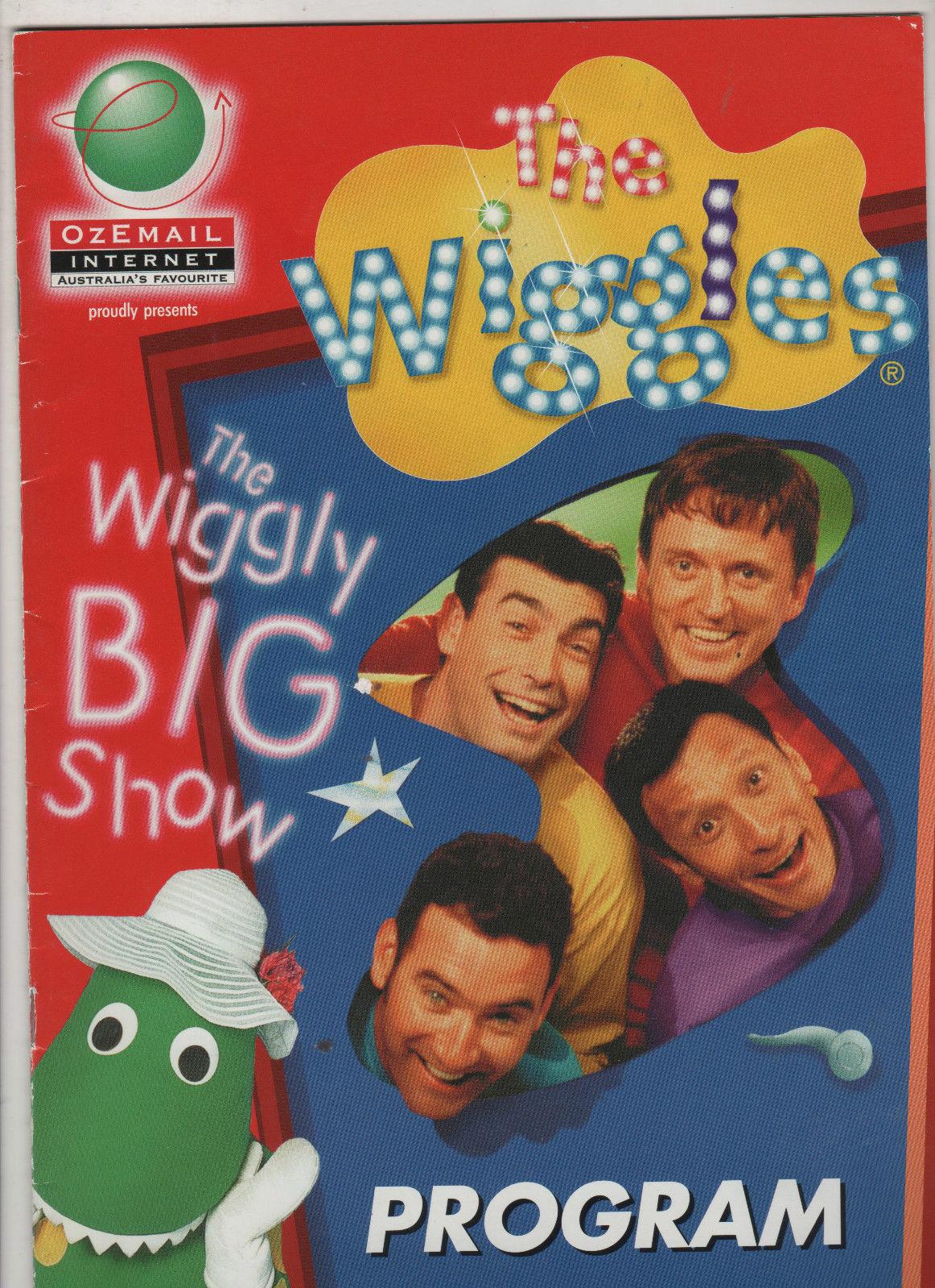 the wiggly big show tour program wigglepedia fandom powered by