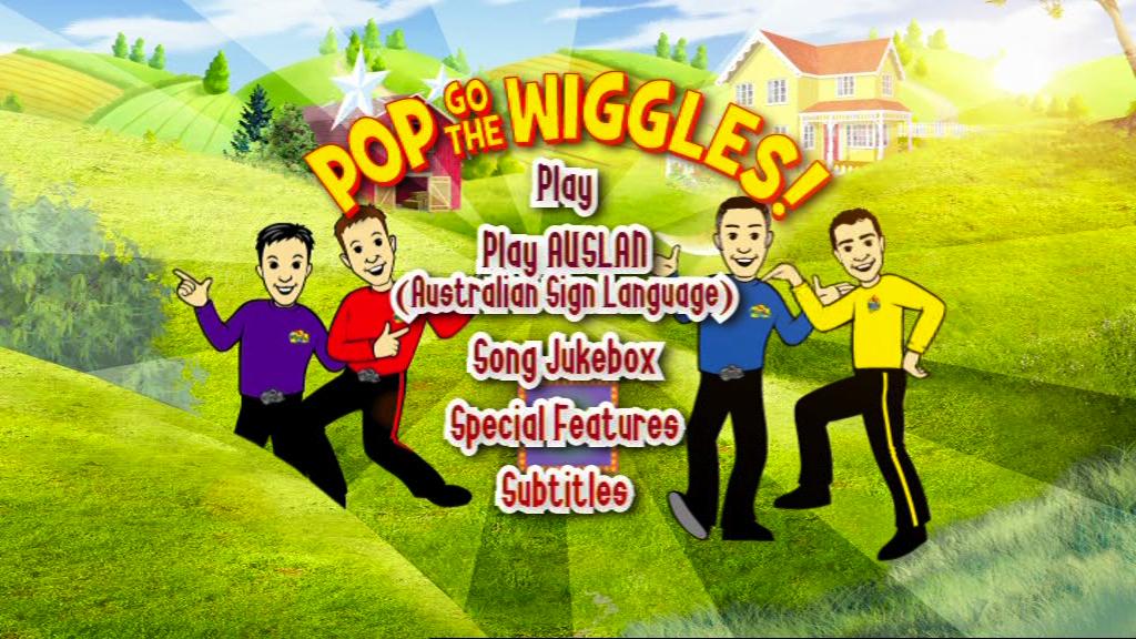 Pop Go The Wiggles (DVD Menu)