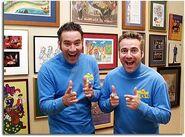 PaulandAnthonyinBlueWiggleShirts