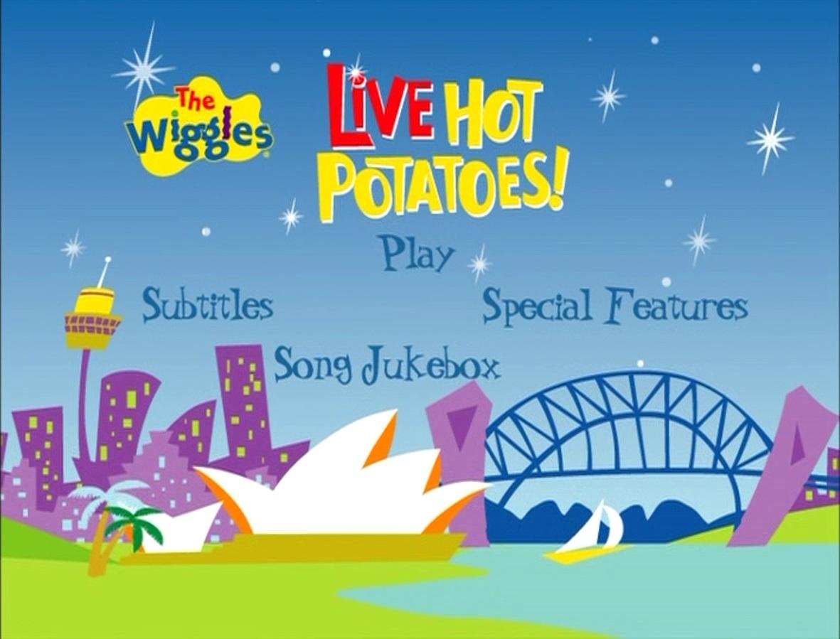 Live Hot Potatoes! (DVD Menu)