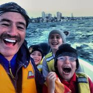 AnthonyandhisKidsatSydneyHarbour