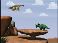 BrontosaurusandTriceratops