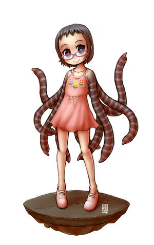 File:Tentacle Girl by sachsen.jpg