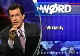 Colbert wikiality