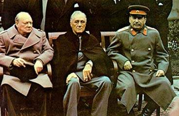 File:Yalta summit 1945 with Churchill, Roosevelt, Stalin tight crop.jpg