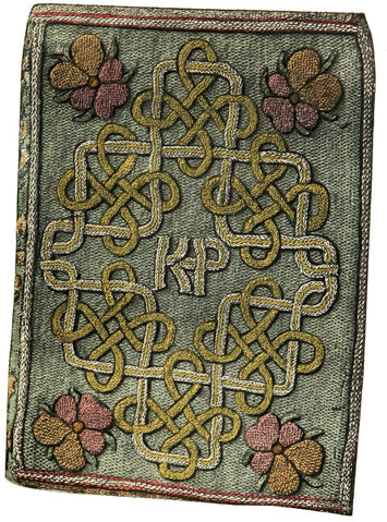 File:Embroidered book binding by Princess Elizabeth.jpg