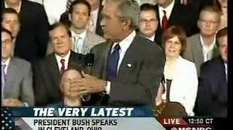 Bush on Health Care It's all your fault!