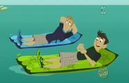 Bros on Floaties
