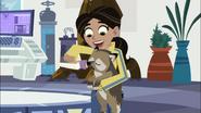 Aviva Feeding Little Howler