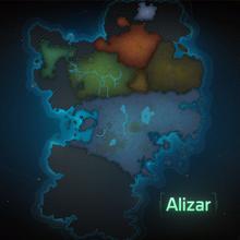 Map Alizar