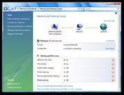 Windows Vista Network and Sharing Center