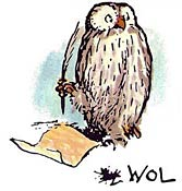 Image result for owl from winnie the pooh