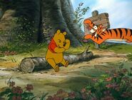 The Many Adventures of Winnie the Pooh Tigger will bounce on Pooh Bear