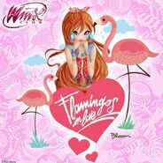 Bloom - Fairy Flamingo - Instagram (11-06-2016)
