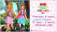 Winx Summer Camp 2016 Invitation Card