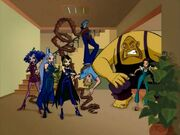 Winx club 118 senior witches go to earth