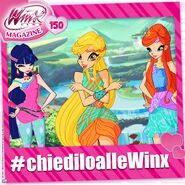 Winx Club Magazine 150 Promotion - Ask the Winx (Facebook - July 17, 2016)