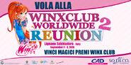 Con Sodico ricevete un magico gadget per la Winx Reunion!