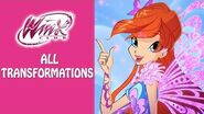 Winx Club - Watch all the Winx transformations!