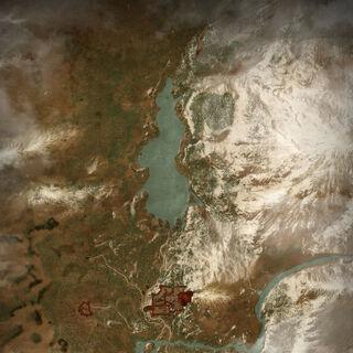 Map of surrounding region in third game.