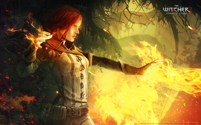 File:Tw2 art Triss casting spells.jpg