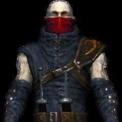 Zamaskowany wojownik
