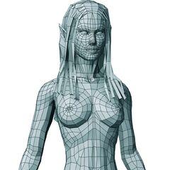Polygon model.