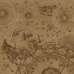 Map of the spiral. Thus map of adventure.