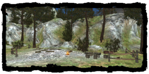 mercenaries' camp