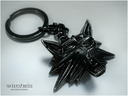 Witcher medallion keychain