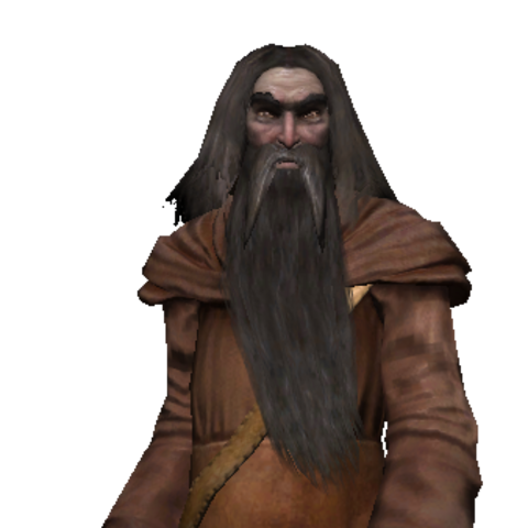 The Hermit full render