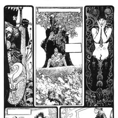 A page from the unfinished comic by Przemysław Truściński