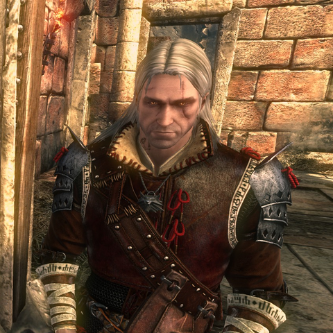 Geralt w Zbroi Drauga