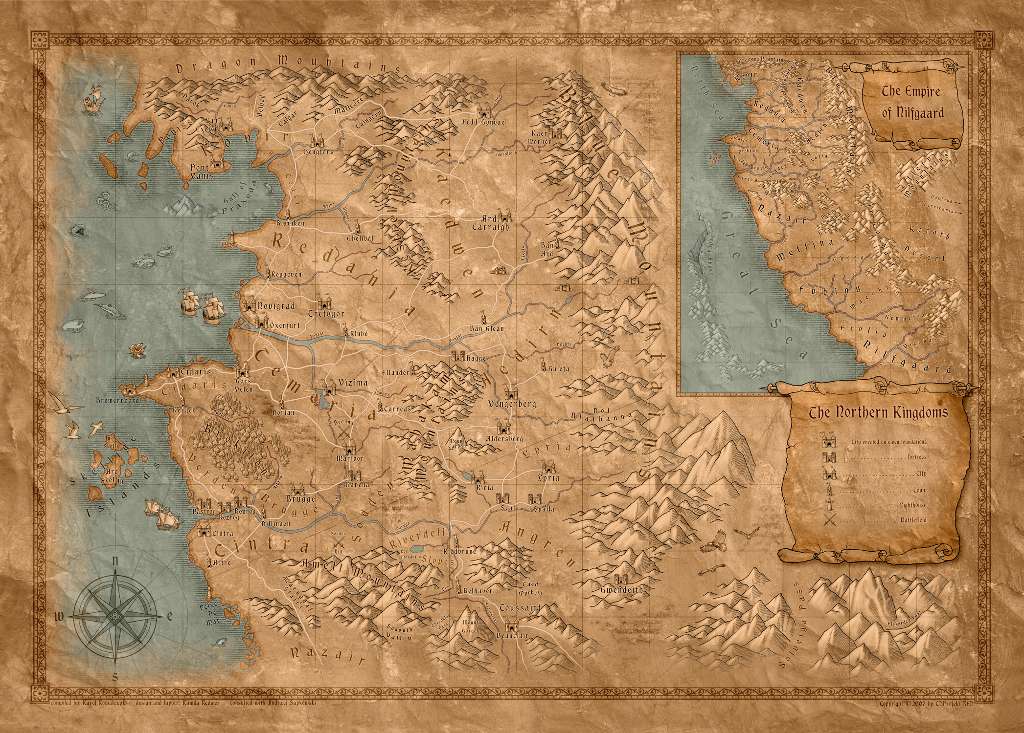 Is tw3 map consistent with previous games books forums cd old wolrd map from tw1 httpvignette1acookierldmapgrevisionlatestcb20140622213927 gumiabroncs Gallery