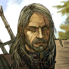 Geralt in the Reasons of State comic book.