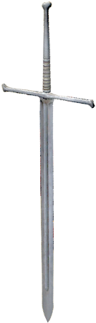 Weapons Meteorite sword vertical