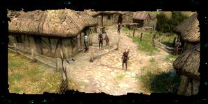 Elves in the village