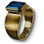 Tw3 gold sapphire ring
