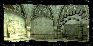 Tempelruinen in den Kloaken
