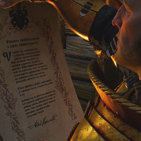 Palmerin de Launfal reading The Summons