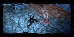 Geralt se enfrenta al fantasma de Leo