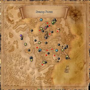 Map coccacidium spawnpoints