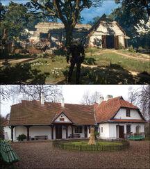 Brunwich inn Rydlowka Manor comparison