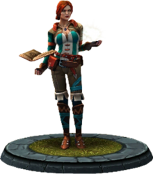 Twba character model Triss