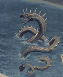 Tw3map Sea monster