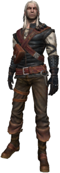 Geralt in The Witcher 1