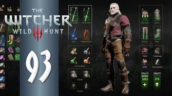 Enhanced Wolf School Gear - The Witcher 3 DEATH MARCH! Part 93 - Let's Play Hard