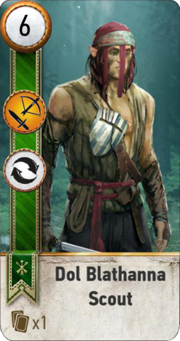 File:Tw3 gwent card face Dol Blathanna Scout 1.png