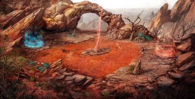 Twba korath desert concept
